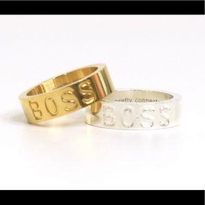 Gold BOSS Ring
